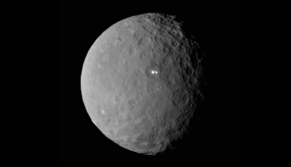 Second mystery bright spot sighted on Ceres 97