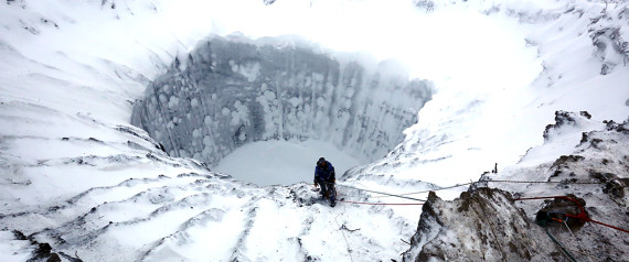 Huge New Holes In Siberia Have Scientists Calling For Urgent Investigation Of The Mysterious Craters 99