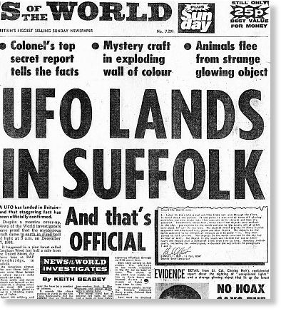 Britain's Roswell: the truth behind the Rendlesham Forest UFO incident 11