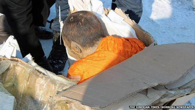 Mummified monk in Mongolia 'not dead', say Buddhists 17