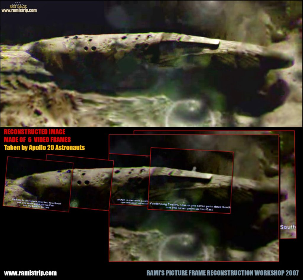The Top Secret Apollo 20 Mission: 1.5 Million-Year-Old Cigar UFO & Female Alien in Suspended Animation 22