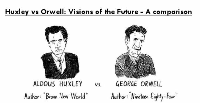 Huxley vs Orwell on the future of Mankind 25