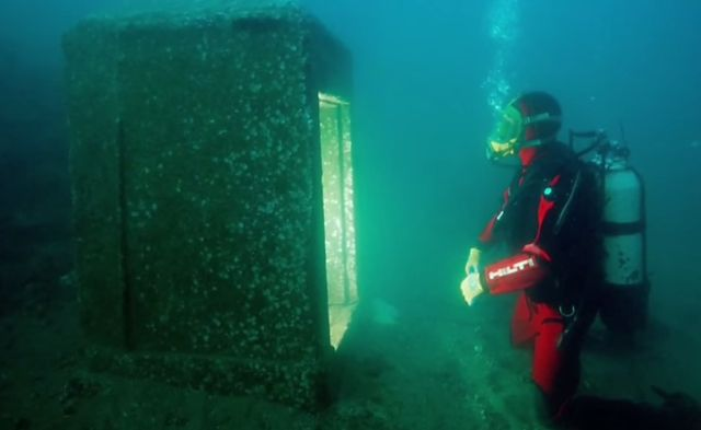 Ancient cities and megalithic sites underwater