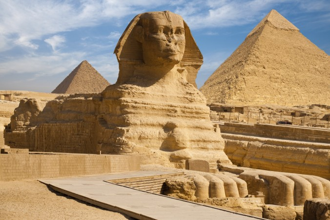 Fossil Suggests Egyptian Pyramids and Sphinx Once Submerged Under Sea Water 86