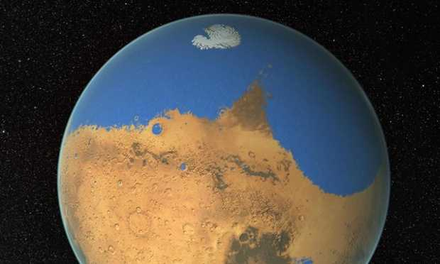 Nasa finds evidence of a vast ancient ocean on Mars 88