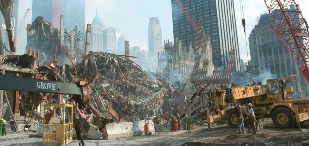 Cops saw 'ghost' during 9/11 rubble search 91