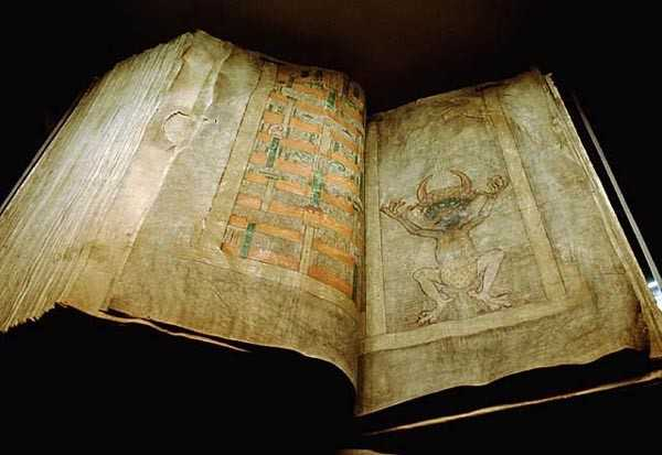 According To Legend, This Infamous Codex Was Written By The Devil Himself 15