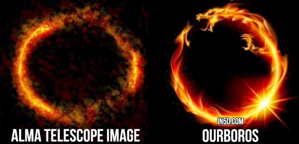 Is This Nibiru, a Galactic Ring of Fire, an Ouroboros, a Portal? 4