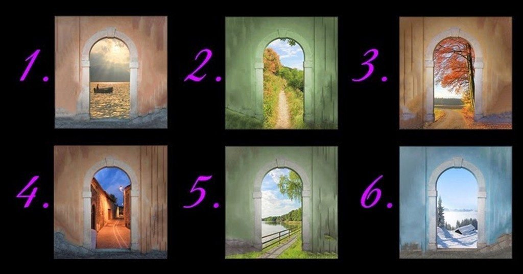Pick A Door That Stands Out the Most, Then See What It Says About Your Future 23