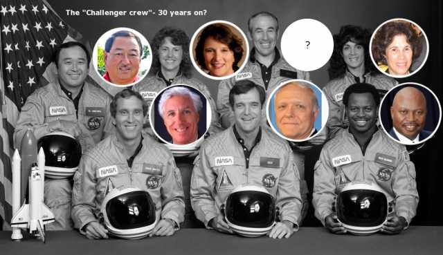 Are the crew members of 1986 Space Shuttle Challenger still alive? 86
