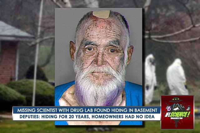 Scientist Missing For Over 20 years Found Living Inside Secret LSD Drug Lab Hidden in Basement 88