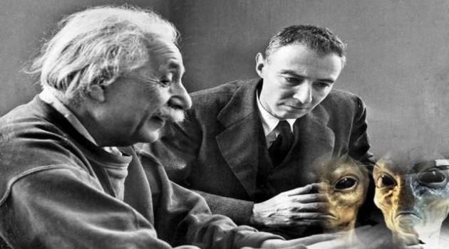 oppenheimer and einstein