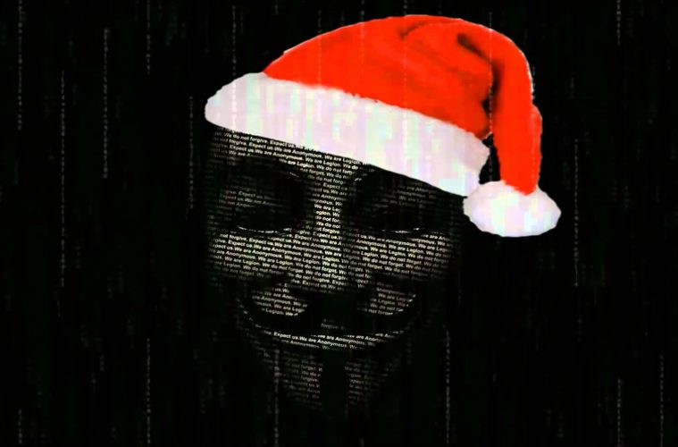 A Hard Hitting Christmas Message From Anonymous – It's Time To Wake Up 1