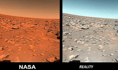 "NASA Lies: The ""Mars rover"" is not on Mars, is the island of Devon, Canada 92"