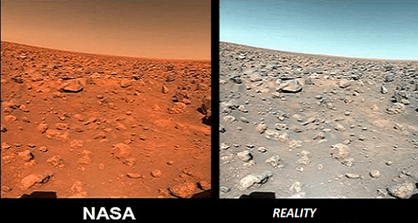"NASA Lies: The ""Mars rover"" is not on Mars, is the island of Devon, Canada 3"