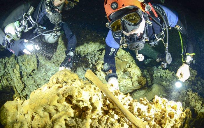 021 underwater cave sac actun maya mexico 4