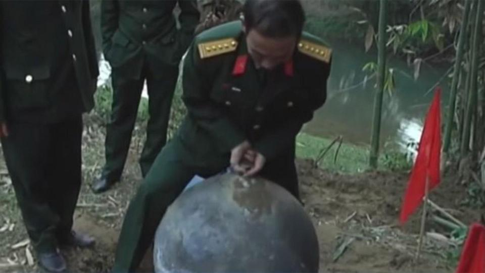 Giant balls of metal fall from the sky in towns across the globe leaving locals baffled… so what on earth are they? 105