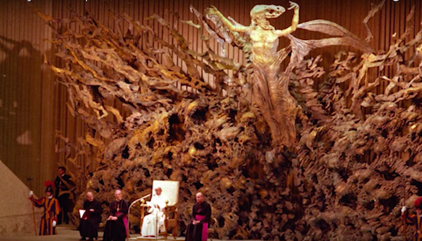 Inside the Pope's Reptilian Audience Hall in Vatican City 29