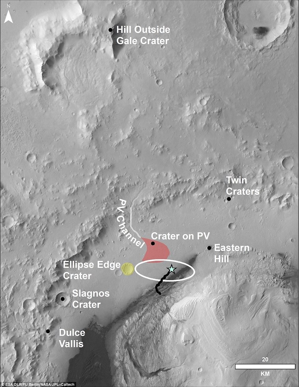 Curiosity Rover Films Stunning Panorama Of The Martian landscape 10