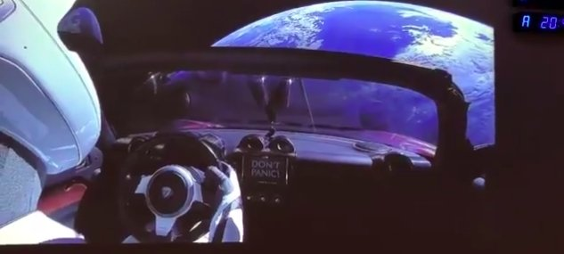 Pics from Tesla Orbiting the Earth Deal Damage to Flat Earth Theory 9