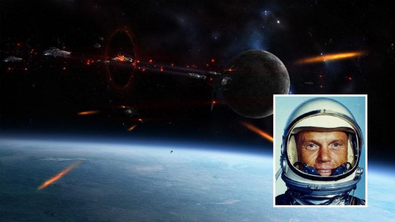 Stunning Radio Transmission Of Astronaut John Glenn When Dozens Of UFOs Surround Him 1