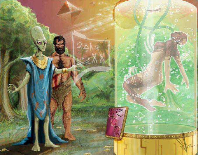 Alien Beings of Some Kind Really Did Genetically Engineer Mankind 3