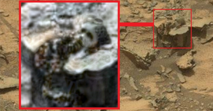 An Ancient Anunnaki statue found on Mars? NASA Rover snaps curious image 88