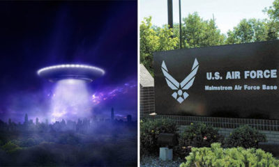 Spate of UFO sightings reported near air field base 87
