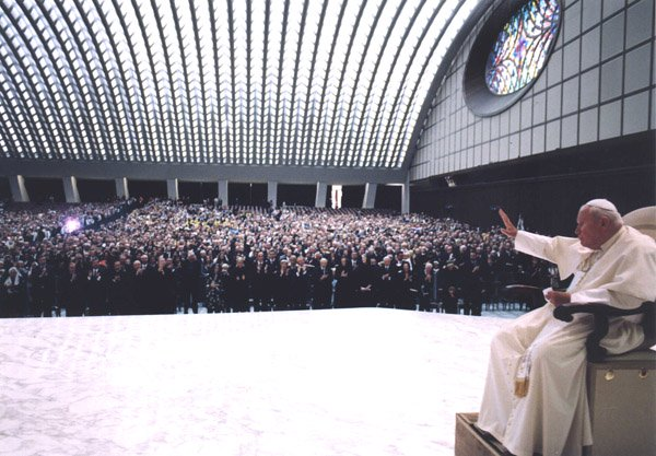 Inside the Pope's Reptilian Audience Hall in Vatican City 33