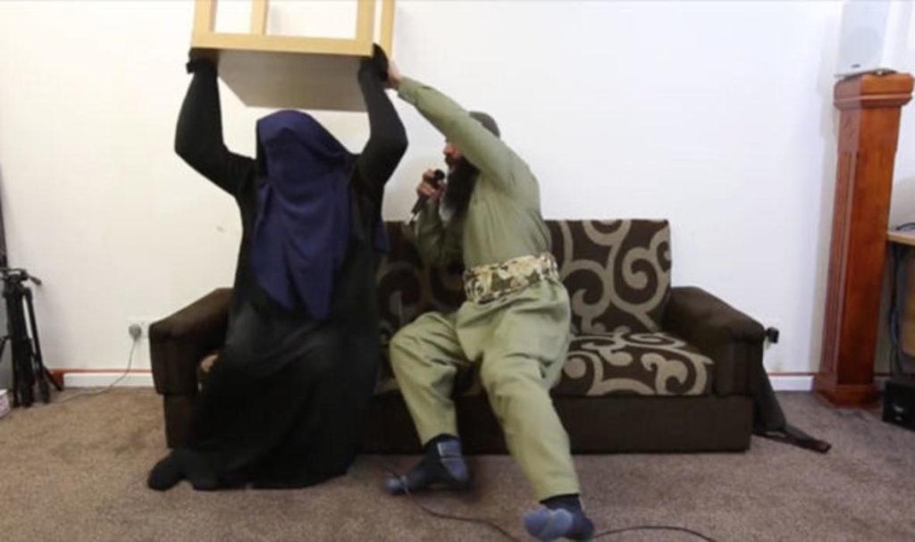 Islamic exorcism revealed in shocking video 42