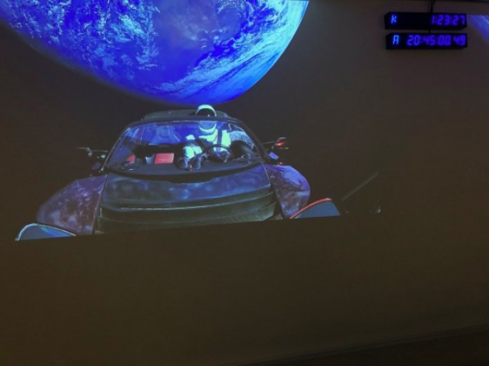 Pics from Tesla Orbiting the Earth Deal Damage to Flat Earth Theory 8
