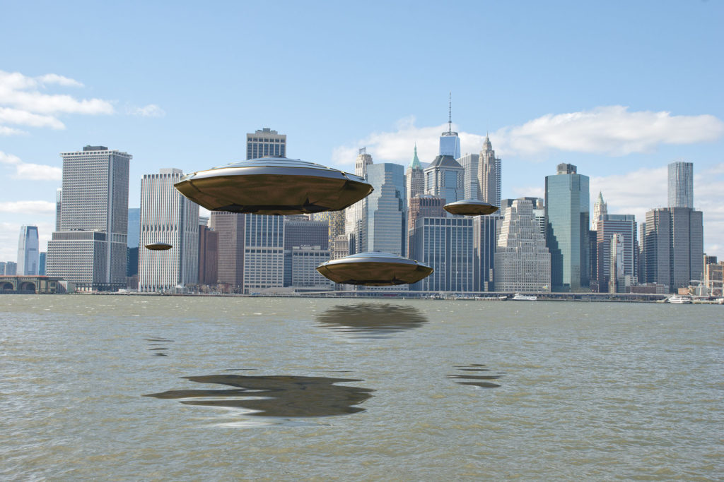 Manhattan reported more UFO sightings in last two years than any other borough 88