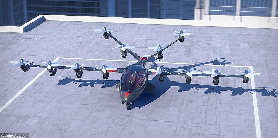 The New Flying Taxi Of The Future 14