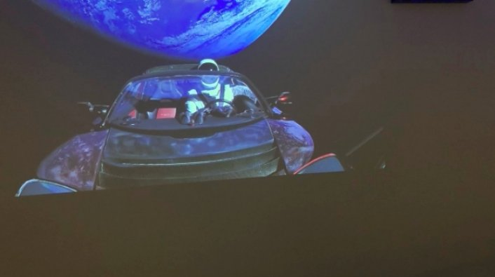 Pics from Tesla Orbiting the Earth Deal Damage to Flat Earth Theory 18