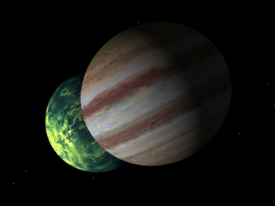 NASA's Deep Impact Begins Hunt for Alien Worlds 1