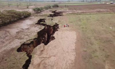Africa Being Split In Two by Plate Tectonics  92