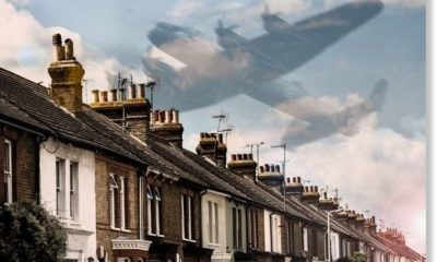 Independent witnesses report silent ghost plane over Ripley, UK which 'turned the sky dark' 93