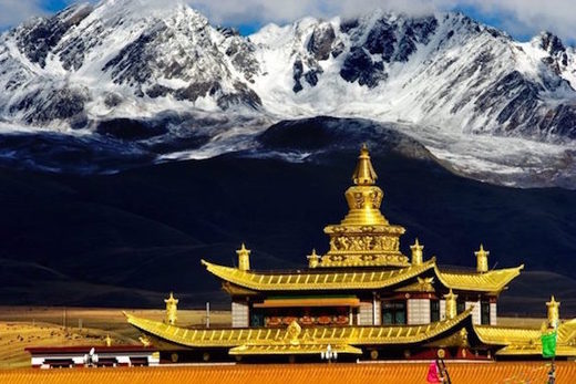 Tagong temple monastery tibet