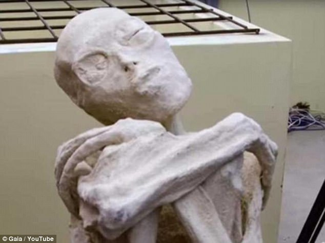 Mystery of three-fingered skeletal remains discovered 90