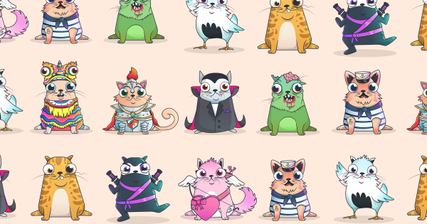 Cryptokitties Are Like Pricey Beanie Babies, And Just As Devoid of Value 86