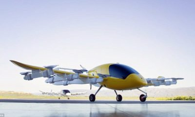 Larry Page's pilotless flying car unveiled 96
