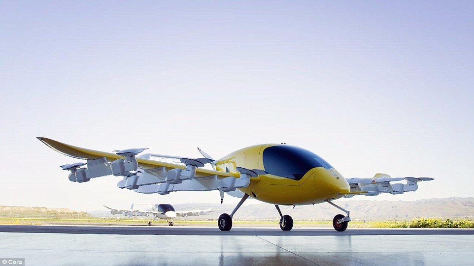 Larry Page's pilotless flying car unveiled 90