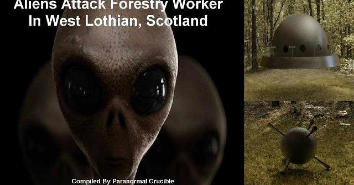 Forestry Worker Attacked By Aliens In Scotland 86