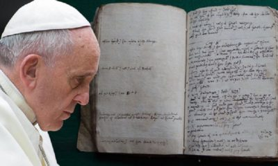 Handwritten Draft of The Bible Discovered Proves Complete Work of Fiction 87