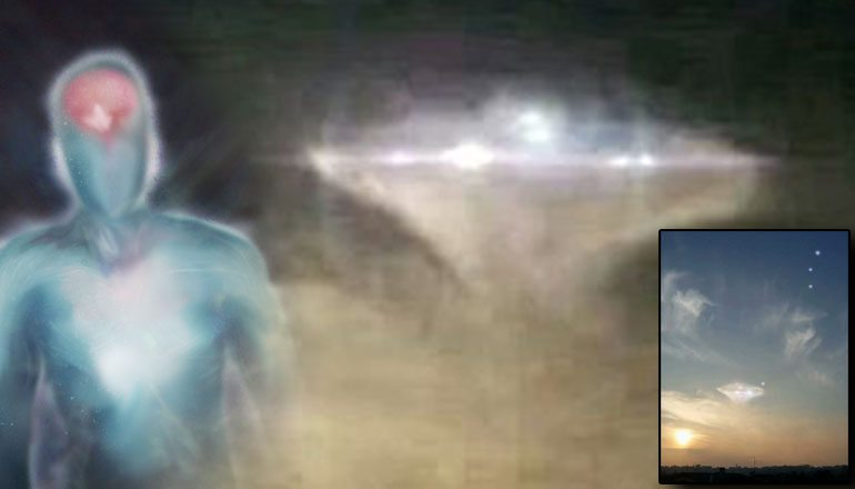 Pleiadian Ufo Photographed Over Italy Goes Viral 19