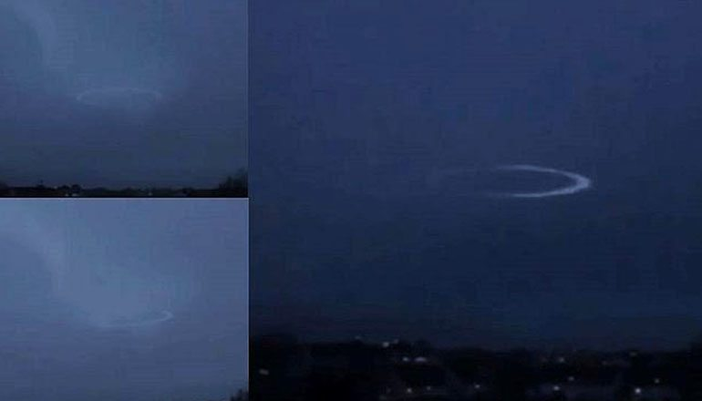 Watch How A Lightning Strike Temporarily Disables This UFO's Cloaking Shield 34