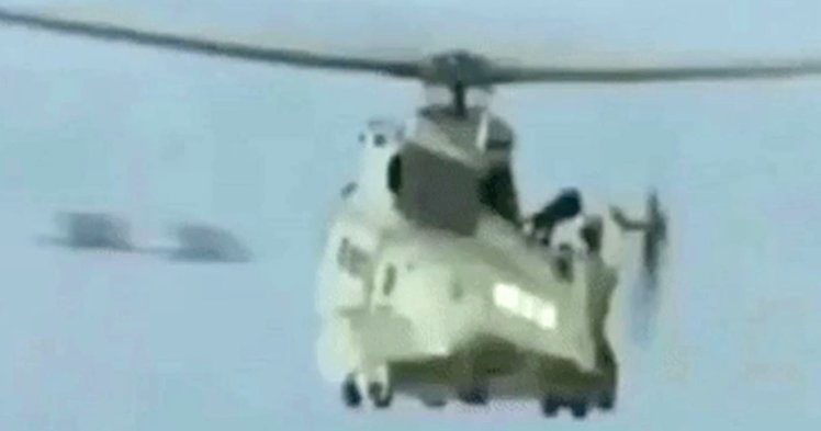 Video emerges of UFOs speeding past rescue helicopter 1