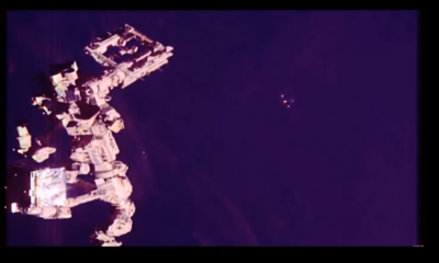 UFO or space reflection? Orb-like object spotted near NASA's International Space Station 110