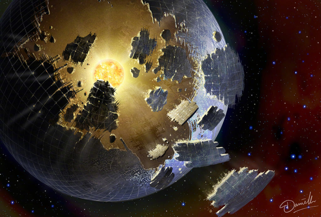 Astronomers search for alien megastructures in satellite data 12
