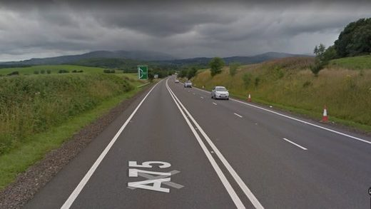 The A75 'Kinmount Straight'